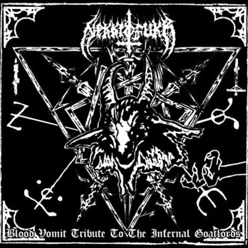 Nekkrofukk - Blood Vomit Tribute To The Infernal Goatlords