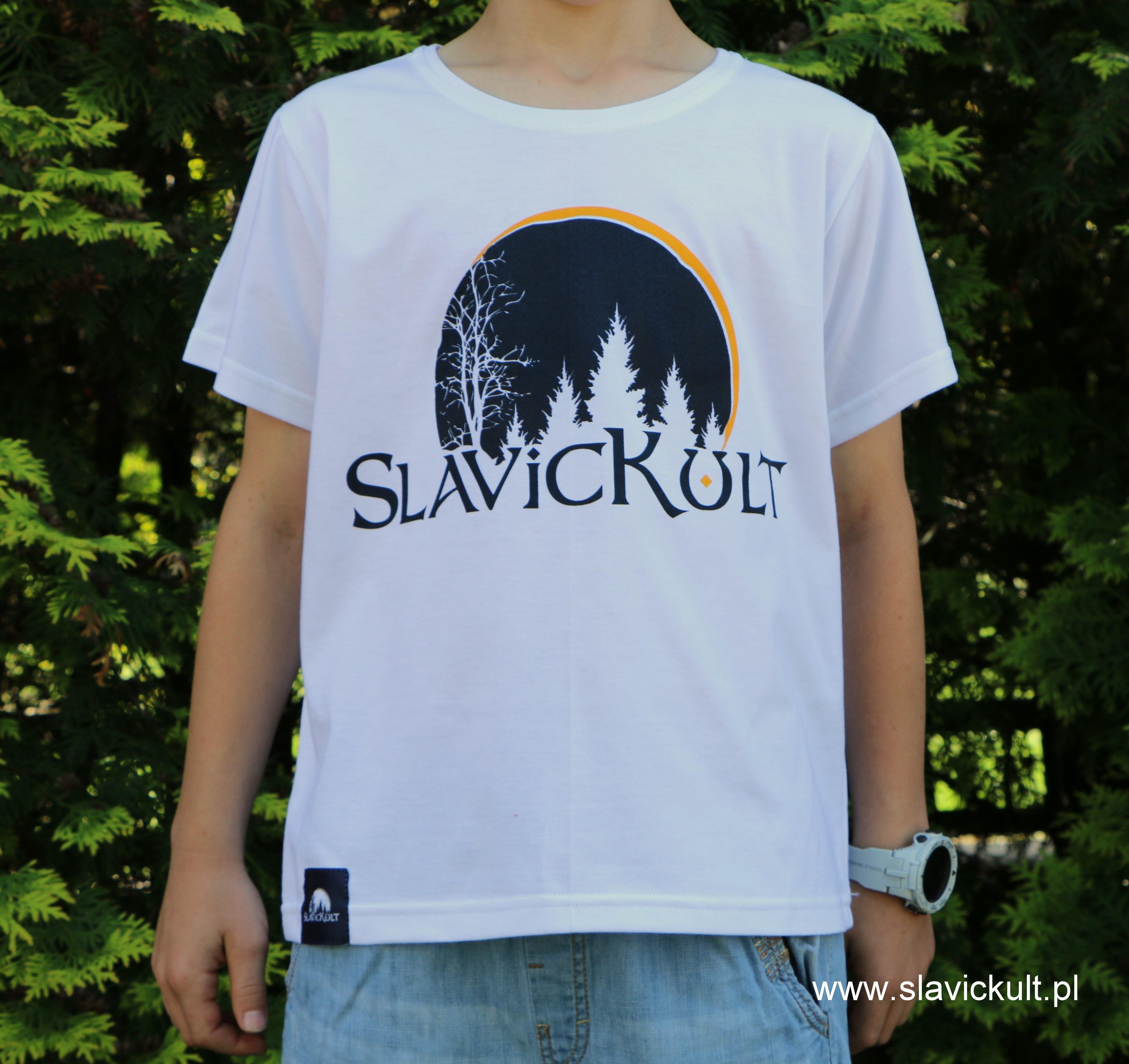 Koszulka Slavickult (Biała) dla dziecka