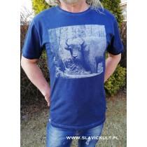Koszulka Żubr (Granatowa) Męska