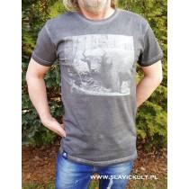 Koszulka Żubr (Szara) Męska