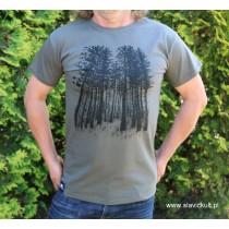 Koszulka Las (Khaki) Męska