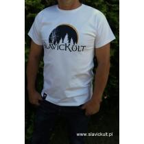 Koszulka Slavickult (Biała) Męska