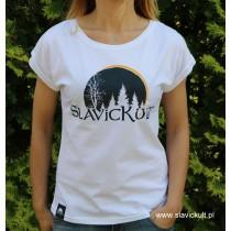 Koszulka Slavickult (Biała) Damska