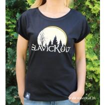 Koszulka Slavickult (Czarna) Damska