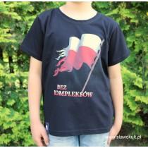 Koszulka Flaga (Czarna) dla dziecka
