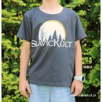 Koszulka Slavickult (Grafit) dla dziecka