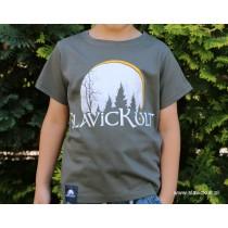 Koszulka Slavickult (Khaki) dla dziecka