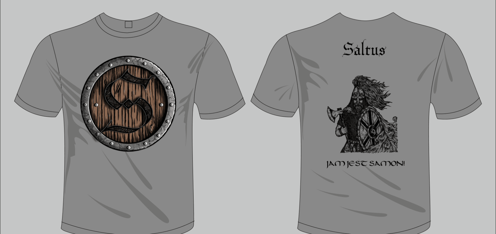 Koszulki Saltus Jam jest Samon!